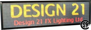 LED Sign - Indoor & Outdoor Approved