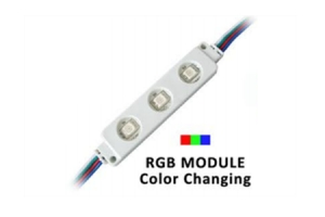 3 LED RGB Modules